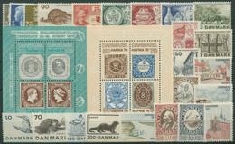 Dänemark 1975 Jahrgang Komplett Postfrisch (G96479) - Annate Complete