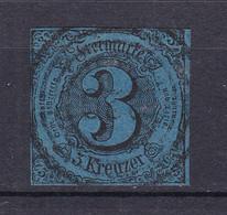 Thurn Und Taxis - 1852 - Michel Nr. 8 N4 - Gestempelt - 40 Euro - Thurn And Taxis