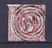 "Thurn Und Taxis - 1865 - Michel Nr. 42 N4 ""134"" Mainz - Gestempelt - Thurn And Taxis"