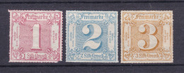Thurn Und Taxis - 1866 - Michel Nr. 48/50 - Ungebr. - Thurn And Taxis