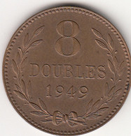 Guernsey Coin 8doubles 1949 - Guernsey