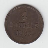 Guernsey Coin 4 Double 1902 - Coins - Guernsey