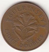 Guernsey Coin 8doubles 1956 - Guernsey