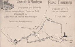 FLESSINGUE - CARTE PUBLICITAIRE DE FRANS TIMMERMAN - Brugge