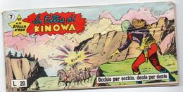 """Kinowa """"Striscia"""" (Dardo 1961)  Serie VII°  N. 7 - Non Classificati"""