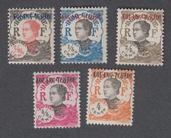 Colonies Françaises - Kouang-Tchéou - Timbres Neufs** N°52,53,54,55 Et 59 - Ungebraucht