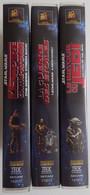 STAR WARS La Guerre Des Etoiles 3 K7 Remastérisées THX 1995 Un Nouvel Espoir, L'Empire Contre-attaque, Le Retour Du Jedi - Fantascienza E Fanstasy