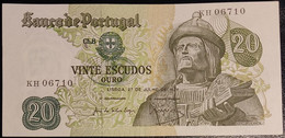 Portugal P 173 20 Escudos 1971 Banknote Garcia De Orta SEE SCAN KH06710 XF+ - AUNC - Portugal