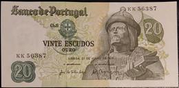 Portugal P 173 20 Escudos 1971 Banknote Garcia De Orta SEE SCAN KK56387 XF+ - AUNC - Portugal