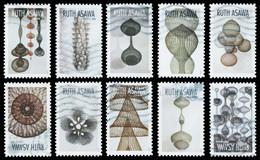 Etats-Unis / United States (Scott No.5504-13 - Ruth Asawa) (o) Set Of 10 - Used Stamps