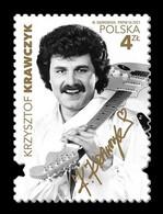 Poland 2021 Mih. 5321 Polish Music Stars. Krzysztof Krawczyk MNH ** - Nuovi