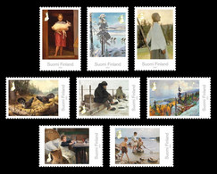 Finland 2021 Mih. 2764/71 Classic Finnish Paintings MNH ** - Neufs