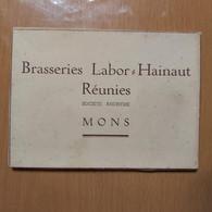 MONS BRASERIES LABOR-HAINAUT REUNIES SOCIETE ANONYME MONS 5 CARTES POSTALES - Mons