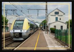71  FONTAINES  MERCUREY  -  La  Gare - Altri Comuni