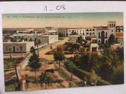 Cpa écrite En 1926, MAROC, FEZ, Panorama De La Ville Nouvelle, éd LL N°10 - Fez (Fès)