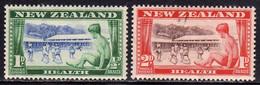 NEW ZEALAND NUOVA ZELANDA 1948 CHILDREN'S HEALTH CAMP COMPLETE SET SERIE COMPLETA MNH - Unused Stamps