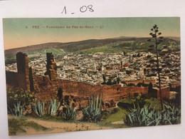 Cpa écrite En 1926, MAROC, FEZ, Panorama FEZ-EL-BALI, éd LL N°4 - Fez (Fès)