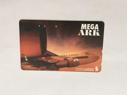 (1 A 34) Collector Telephone Card - Mega Ark Cargo (Singapore) - Aerei