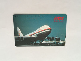 (1 A 34) Collector Telephone Card - Japan Airline (Japan) - Aerei