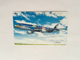 (1 A 34) Collector Telephone Card - ANA Airline (Japan) - Aerei
