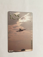 (1 A 34) Collector Telephone Card - NTT - Airline & Ship (Japan) - Aerei