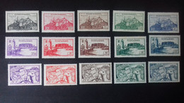 FEZZAN N°28/42** - Unused Stamps