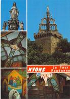 26 - Nyons - La Tour Randonne - Multivues - Nyons