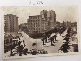 Cpa, écrite, Maroc, CASABLANCA LE BOULEVARD DU 4 E ZOUAVES Et La Rue Foucault, Real-Photo éd CAP N°107 - Casablanca