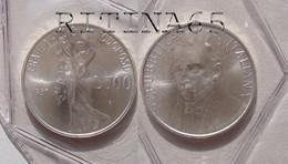 ITALIA 500 LIRE ARGENTO 1987 GIACOMO LEOPARDI FDC SIGILLATA DA SET ZECCA - 500 Lire