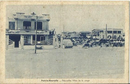 CPA De PORT LA NOUVELLE - Nouvelles Villas De La Plage. - Port La Nouvelle