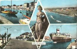 CPSM De PORT LA NOUVELLE - Vue Multiples. - Port La Nouvelle