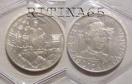 ITALIA 500 LIRE ARGENTO 1992 PIERO DELLA FRANCESCA FDC SIGILLATA DA SET ZECCA - 500 Lire