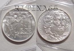 ITALIA 500 LIRE ARGENTO 1993 CARLO GOLDONI FDC SIGILLATA DA SET ZECCA - 500 Lire