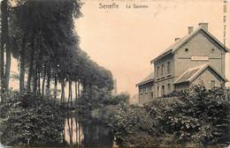 Belgique - Seneffe - La Gare - La Samme - Grffe De Seneffe Au Verso - Seneffe