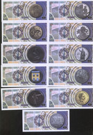 160th Anniversary Of Jose Marti 2013 Set Of 11 Featuring The Famous Revolutionary UNC - Cuba
