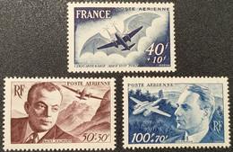 Poste Aérienne N° 21/22/23 Neuf * Gomme D'Origine  TTB - 1927-1959 Nuevos