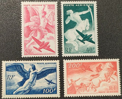 Poste Aérienne N° 16 à 19 Neuf * Gomme D'Origine TTB - 1927-1959 Nuevos