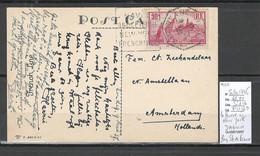 France -CP Le Havre à New York C - DAGUIN - 1907 - Posta Marittima