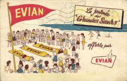 """EVIAN  La Journée Des """"Grandes Soeurs""""  Offerte Par Evian RV - Publicité"""