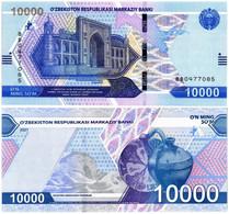 UZBEKISTAN 10000 SUM 2021 P NEW - UNC - Uzbekistan