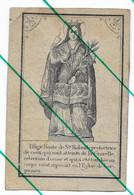 Image Religieuse Canivet Santino Holy Card Sainte Rolande  Gerpinnes - Devotion Images
