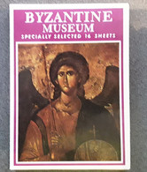 Byzantine Museum, Specially Selected 16 Sheets, 1979, Greece - Other