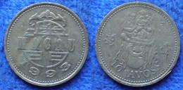 MACAU - 10 Avos 1993 KM# 70 Special Administrative Region - Edelweiss Coins - Macau