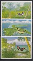 Grenadines Of St Vincent - 1992 - Bloc Feuillet N°Mi. 99 à 101 - Papillon / Butterfly - Neuf Luxe ** / MNH / Postfrisch - Butterflies
