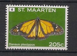 St Maarten - 2011 - N°Yv. 48 - Papillon / Butterfly - Neuf Luxe ** / MNH / Postfrisch - Butterflies