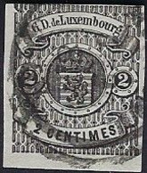 Luxembourg - Luxemburg - Timbres - 1865   2C.  °   Michel 14   VC. 17,- - 1859-1880 Wapenschild