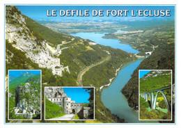 01 - Fort L'Ecluse - Le Défilé - Multivues - Altri Comuni