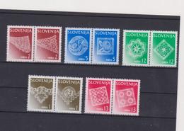 SLOVENIA, LACE Set MNH With 1997 Print - Slovenië