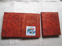 3 Albums De Photos (véhicules De Pompiers) Du Dept.71 (saone-et-loire - Albums & Verzamelingen