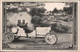 ! Alte Ansichtskarte Gruss Vom Taunusrennen, Automobil Opel, 1907, Homburg V.d. Höhe - Taunus